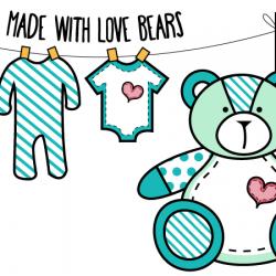 Made With Love Bears Logo