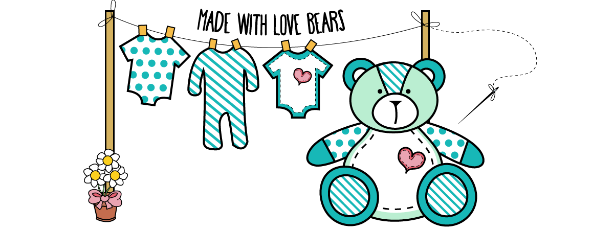 Made With Love Bears Logo
