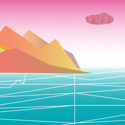 Virtual Terrain Illustration